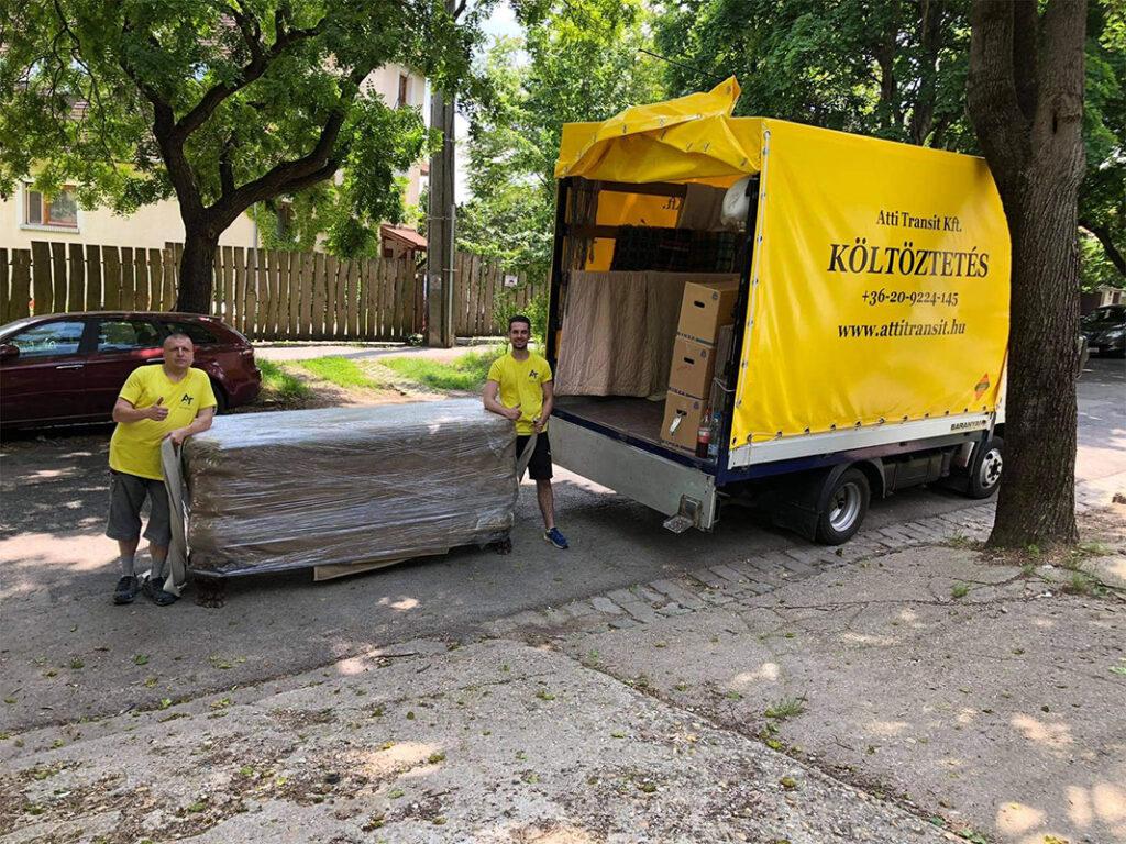 költözés, költöztetés